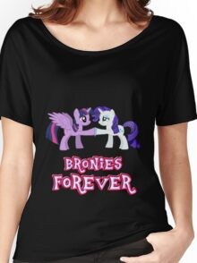 Bronies Forever (No Heart) 12 Women's Relaxed Fit T-Shirt