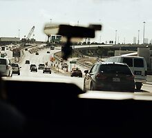 Taxi ride in Miami by jackalexanderuk