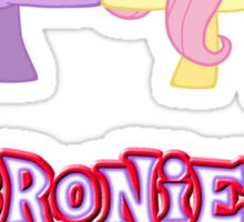 Bronies Forever (No Heart) 13 Sticker