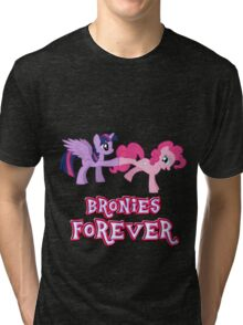 Bronies Forever (No Heart) 14 Tri-blend T-Shirt
