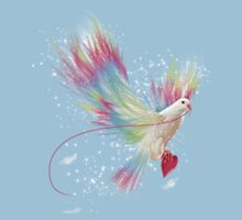 I Carry Your Heart With Me (Neon Wings Series I) Kids Clothes
