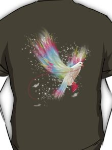 I Carry Your Heart With Me (Neon Wings Series I) T-Shirt