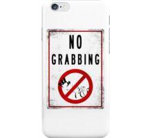 Blitzcrank no grab here iPhone Case/Skin