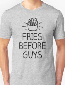 fries before guys- hand lettered Unisex T-Shirt