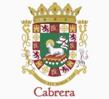 Cabrera Shield of Puerto Rico by William Martin