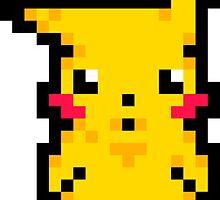 Pixel Pika by JakeMiddleton