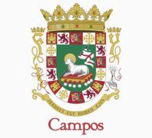 Campos Shield of Puerto Rico by William Martin