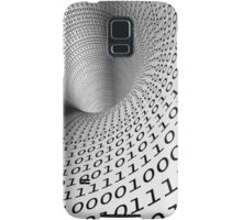 binary language background Samsung Galaxy Case/Skin