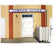Liquor Store Poster
