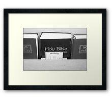 Holy Bible Framed Print