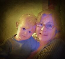 Me and my grandbaby by vigor