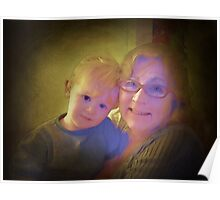 Me and my grandbaby Poster