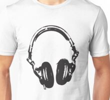 Headphone Unisex T-Shirt