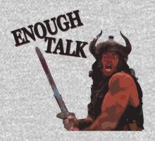 Enough Talk by Simon Dyer