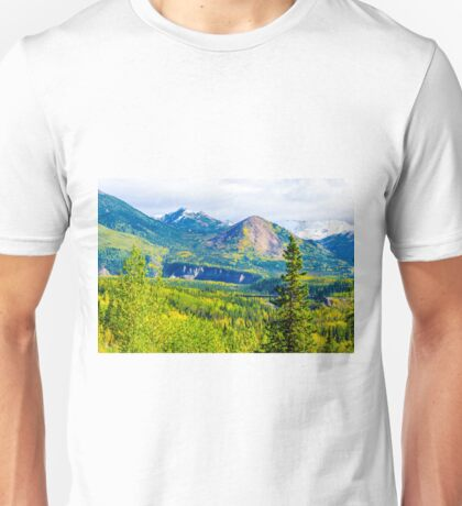 Golden Denali Unisex T-Shirt