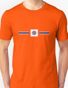 AFE~Nautical- Navy Helm Wheel T-Shirt
