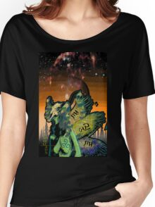 Gyan Eagle Preistess Women's Relaxed Fit T-Shirt