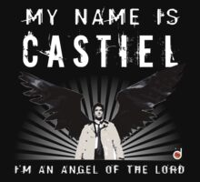 CASTIEL ANGEL OF THE LORD Baby Tee