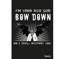 CASTIEL NEW GOD Photographic Print