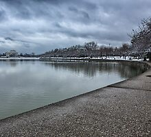Jefferson Memorial in winter 2 by mkurec