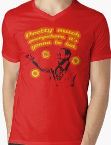 Arthur's weather report. Mens V-Neck T-Shirt
