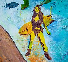Surfer Girl by DéSha Metschke