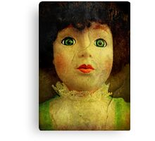 Vintage Victorian Doll Canvas Print