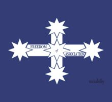 Freedom Of Association Eureka Flag by rockabilby