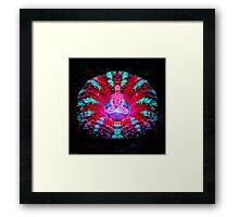 Mushroom Meditation Framed Print