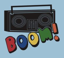 BOOM!--Retro Boombox by birdy27designs