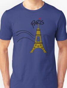 Paris Love Fantasy Eiffel Tower T-Shirt