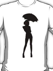 Looks Like Rain Silhouette Only T-Shirt