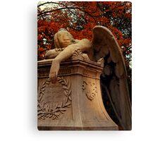 Weeping Angel Canvas Print