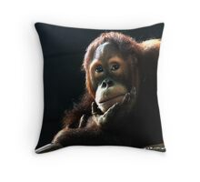 Deep Thinker num 2 Throw Pillow