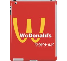 WcDonald's iPad Case/Skin