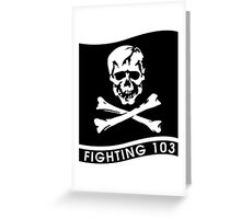VFA-103 Jolly Rogers Greeting Card