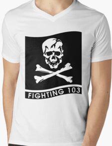 VFA-103 Jolly Rogers Mens V-Neck T-Shirt