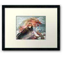 Skytalia Framed Print