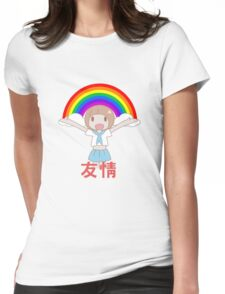 Mako Friendship! 友情 Womens Fitted T-Shirt