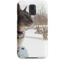 Snow Cat Samsung Galaxy Case/Skin