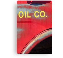 oil Canvas Print