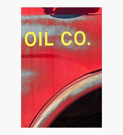 oil Photographic Print