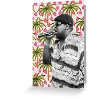 Biggie in Paradise Greeting Card