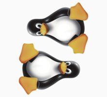 Linux Tux ×2 by unix