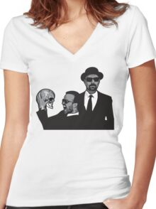 Breaking Bad ftw Women's Fitted V-Neck T-Shirt