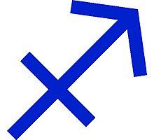 Sagittarius Symbol Photographic Print