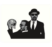Breaking Bad ftw Art Print