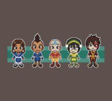 Team Avatar Plus Sifu Hotman Pixels by geekmythology