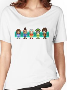 Team Avatar Plus Sifu Hotman Pixels Women's Relaxed Fit T-Shirt