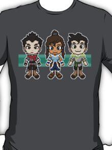 Legend of Korra - The Fire Ferrets Pixels T-Shirt